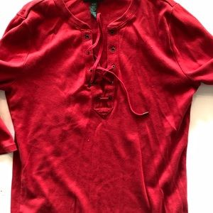 Ralph Lauren redshirt